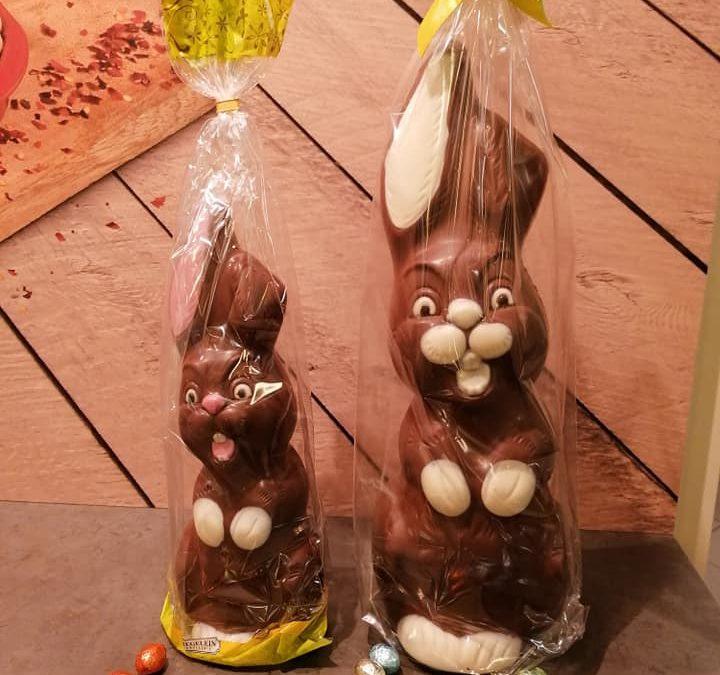 Haal de LENTE in huis met deze gezellige paasfiguren van chocola…