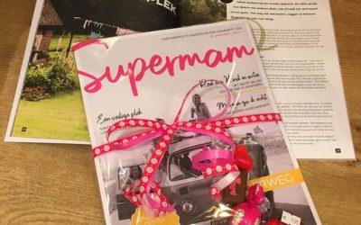 Super leuk tijdschrift voor de ALLERLIEFSTE MOEDER verpakt met iets lekkers…